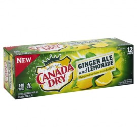 CANADA DRY GINGER ALE 330ML CAN