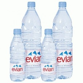 Evian Mineral Water 300ml , 500ml , 1l